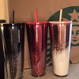 starbucks glitter holiday cup!